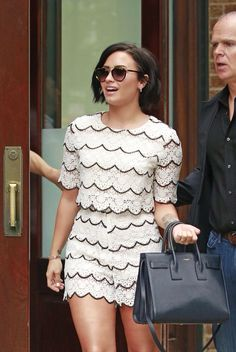 Demi Lovato out in New York - May 28th