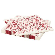 IKEA VINTER 2016 Paper napkin White/red cm The napkin is highly absorbent because it's made of three-ply paper. Ikea Christmas, Scandinavian Christmas, Scandinavian Style, Christmas Crafts, Christmas Decorations, Xmas, Christmas 2016, Ikea Kids, Christmas Table Settings