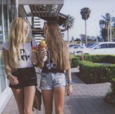 ice cream #friends #girls #summer