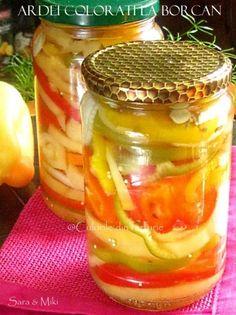 » Castraveti si dovlecei feliati murati in suc propriuCulorile din Farfurie Preserves, Punch Bowls, My Recipes, Pickles, Cucumber, Mason Jars, Goodies, Vegetables, Cooking