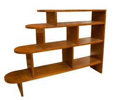 Original Art Deco Golden Oak Bookshelf, British c.1930