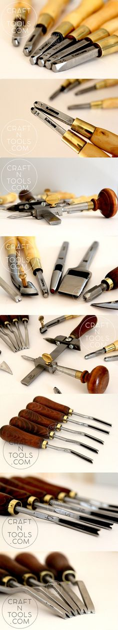 Vergez Blanchard leather craft tools from #craftntools #leatherwork #leathercraft #craftntools
