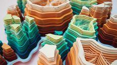 Paper micro-organisms