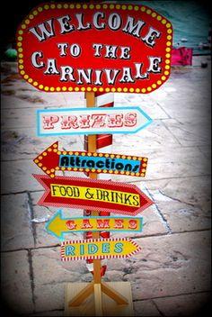 "Monster Bean Bag Toss Photo 1 of Carnival/Circus / Birthday ""Vintage Carnival/circus birthday"" Carnival party Carnival Sign agood idea fo. Carnival Signs, Circus Carnival Party, Circus Theme Party, Carnival Birthday Parties, Carnival Themes, Circus Birthday, Vintage Carnival, First Birthday Parties, First Birthdays"
