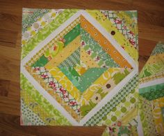 String Quilt Block 8 by Thread For Your Life, via Flickr