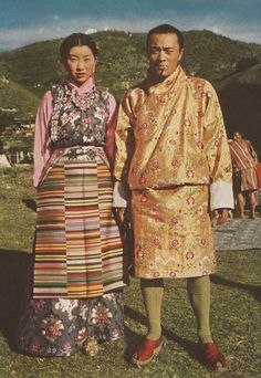 Tibetan traditional costume