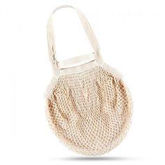 Síťová taška přes rameno - Bavlněný koš - natural - zvětšit obrázek
