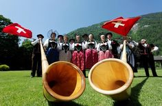 A look behind the scenes - Swiss folklore up close