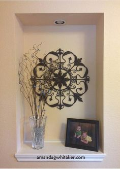 Decorating the Entryway Niche | Amanda G. Whitaker