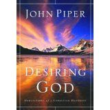 Desiring God by John Piper. The first John Piper book I read--- made me realize I was missing something. I Love Books, Great Books, Books To Read, John Piper Quotes, Walking Meditation, Life Changing Books, Up Book, So Little Time, Have Time