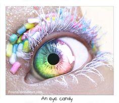An eye candy