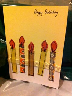Katie's Creative: Homemade cards (#4)