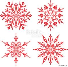 Snowflake Garland, Paper Snowflakes, Paper Stars, Snowflake Pattern, Christmas Snowflakes, Christmas Crafts, Christmas Decorations, Xmas, Snow Flake Tattoo