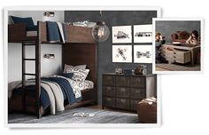 Great room idea if your kids are sharing a room #rhbabyandchild #fallinlove