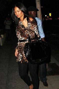 313bdfeba152 Kimora Lee Simmons and Yves Saint Laurent Downtown Tote - Coolspotters  Kimora Lee Simmons