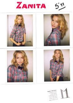 bow + plaid blouse