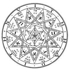 The Institute For Enochian Magick Temple Illuminatus - - jpeg Occult Symbols, Magic Symbols, Occult Art, Ancient Symbols, Mandala, Demonology, Magic Circle, Crowley, Book Of Shadows