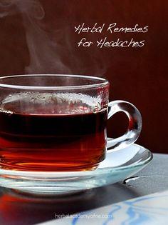 Herbs for headaches!