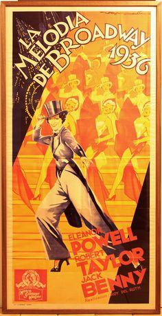 Cartel de cine 1936.