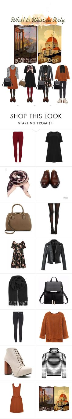 """Italy Outfit Ideas"" by missnidy ❤ liked on Polyvore featuring Manon Baptiste, Calvin Klein, BeckSöndergaard, Paige Denim, WithChic, Qupid and TIBI"