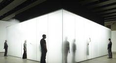 Antony Gormley, Blind Light Blind Light, Hayward Gallery
