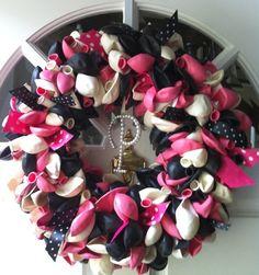 love . . . balloon wreath