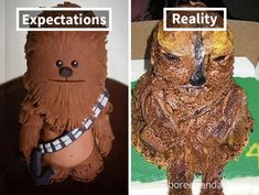17 Horrifying Cake Fails That Will Haunt Your Future Dreams - Funny Troll & Memes 2019 Epic Fail Pictures, Funny Pictures, Epic Cake Fails, Elmo, Funny Fails, Funny Memes, Jokes, Funny Quotes, Baking Fails