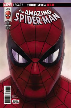 AMAZING SPIDER-MAN #796 LEG