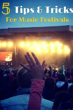 Tips & Tricks for Music Festivals and Why You Should Go. Travel tips of music festivals around the US by Traveling Nine to Fiver.