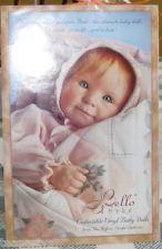 3 NEW Yolanda Bello Bebe Story of Love Collectible Vinyl Baby Dolls Ashton Drake