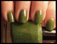 Margarita Glitter Nail Polish - Aphrodite Lacquers