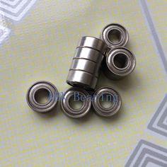 Gratis verzending 10 stks MR105ZZ L-1050 MR105 diepgroefkogellager 5x10x4mm miniatuur lager ABEC3