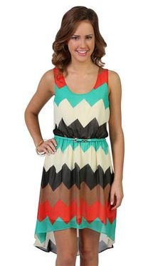 Deb Shops #chevron #dress