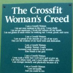For my CrossFit coach Anya and all the lovely ladies at CrossFit XTC Manassas that I work out with each day whom too have callused hands and the insane desire to be as strong as we never thought we could be! XOXO :)