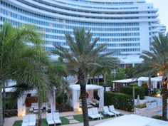 Pool Cabanas at the Fontainebleau, Miami Beach