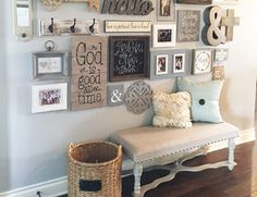 Kara from Lillian Hope Designs shows us step by step on how to create a gallery wall for all those blank walls in your home.