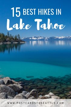 Lake Tahoe is a beautiful place to go hiking during the year. Here is a guide to the 15 best Lake Tahoe hikes in California. Hiking Places, Go Hiking, Winter Hiking, Lakes In California, California Travel, Southern California, Lake Tahoe Vacation, Hiking Photography, Travel Usa
