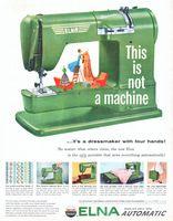Elna Supermatic Sewing Machine 2012 Ad Picture