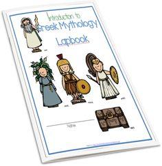 Introduction to Greek Mythology Lapbook