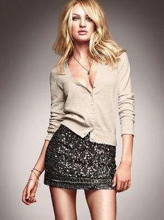 Sequin Mini Skirt from VS