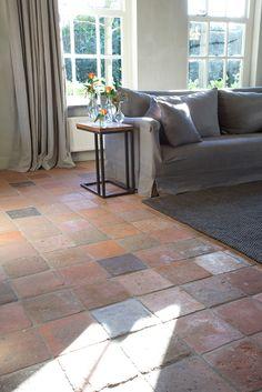#Antique Terracotta Flooring – Opkamer Antique Terrakotta - #Flooring ideas | de-opkamer.com