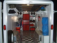 Enclosed Trailer Setups - Trucks, Trailers, RV's & Toy Haulers - ThumperTalk