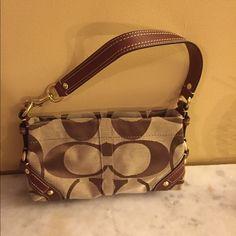 Authentic Coach Purse Serial : DO794-10730 Authentic Coach C purse Coach Bags Mini Bags