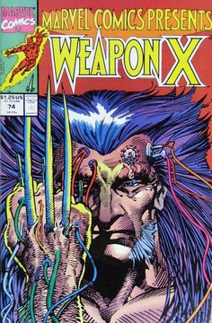 Weapon X :  Marvel Comics Presents 74.