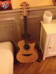 Guitare LAG electro-acoustique
