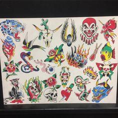 Vintage Tattoo Design, Skull Tattoo Design, Tattoo Designs, Realistic Rose, Traditional Tattoo Design, Traditional Tattoo Flash, Vintage Flash, American Tattoos, Flash Art