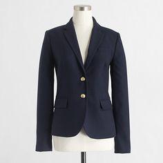 Factory schoolboy blazer