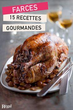 Profitez de la période des fêtes de fin d'année pour apprendre à préparer des farces maison, et épater vos convives avec des recettes délicieuses et originales… La farce végétarienne au risotto s'accorde très bien avec un canard, notre farce orientale est parfaite pour un pigeon, et la farce pommes-poires, idéale pour du porc ou une poularde. Nous n'avons pas oublié nos classiques : la fameuse pintade farcie au foie gras, l'oie aux fruits secs et épices, ou la dinde farcie aux marrons…
