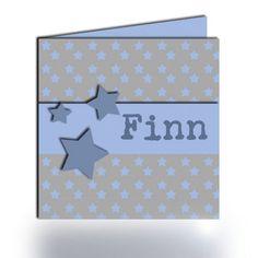 Geboortekaartje Finn (incl. envelop)