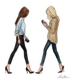 blondebrunette-WEB | Futher Investigation: The Uniform March 15, 2012 The Sketch Book Page 45 by Inslee Haynes